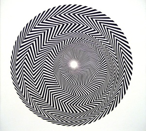 Bridget Riley, 'Blaze', 1962