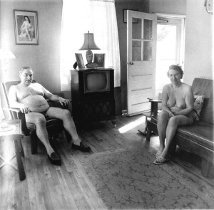 Diane Arbus, 'Retired man and his wife at home',