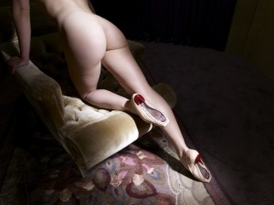 More Lynch-photographed Louboutins