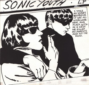 Pettibon-designed album cover for Sonic Youh