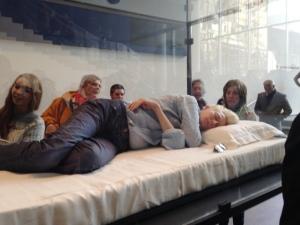 Tilda Swinton performs 'The Maybe' at MoMA, NY