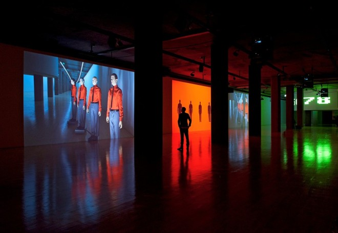 Kraftwerk at Sprueth Magers, installation view