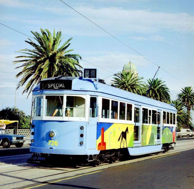 Tram design by Jenny Watson