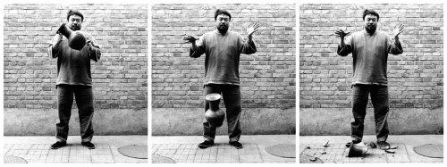 Ai Weiwei, 'Droppin a Han Dynasty Urn',