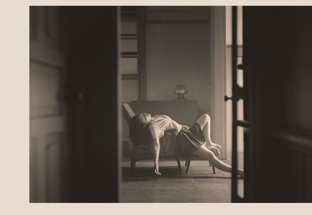Hisaji Hara, from the series 'A Photographic Portrayal of the Paintings of Balthus', 2009