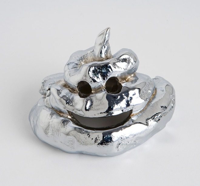Nell, 'Everyday Happiness', 2010, chrome plated bronze