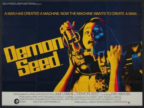 Poster for the 1977 film film Demon Seed