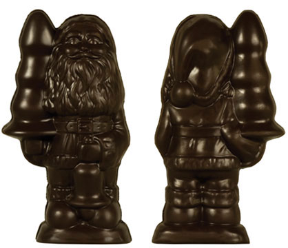 Santa with a Buttplug chocolates by Paul McCarthy