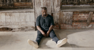 Still from Kanye West's new video shot by Steve McQueen
